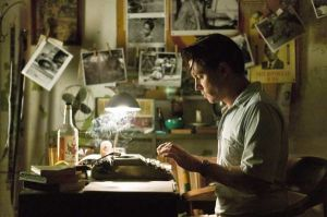 Still Frame from Rum Diary. Notice the background is darker than the subject.
