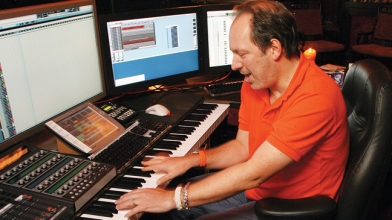 SANTA MONICA, CA : Hans Zimmer (Photo by Eric Charbonneau/Le Studio)