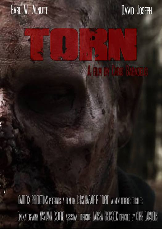 Torn, directed by Chris of Gatelock Productions. We utilized a direct still from the film.